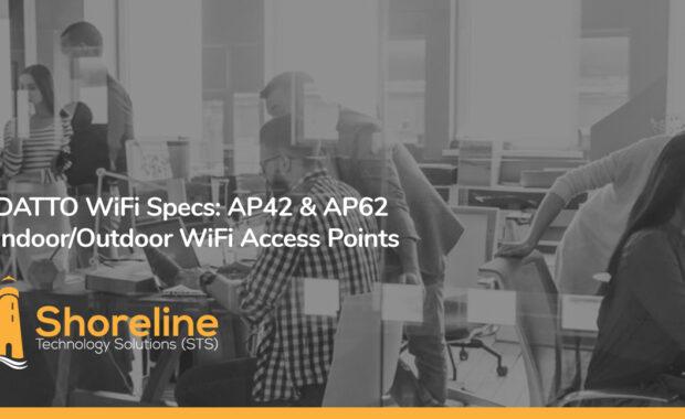DATTO WiFi Specs: AP42 & AP62 Indoor/Outdoor WiFi Access Points